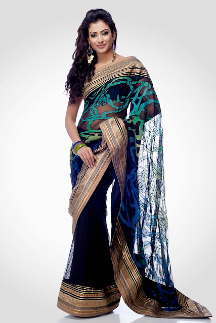Models Saree Photos
