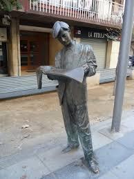 Lector de premsa. Mollet del Vallès