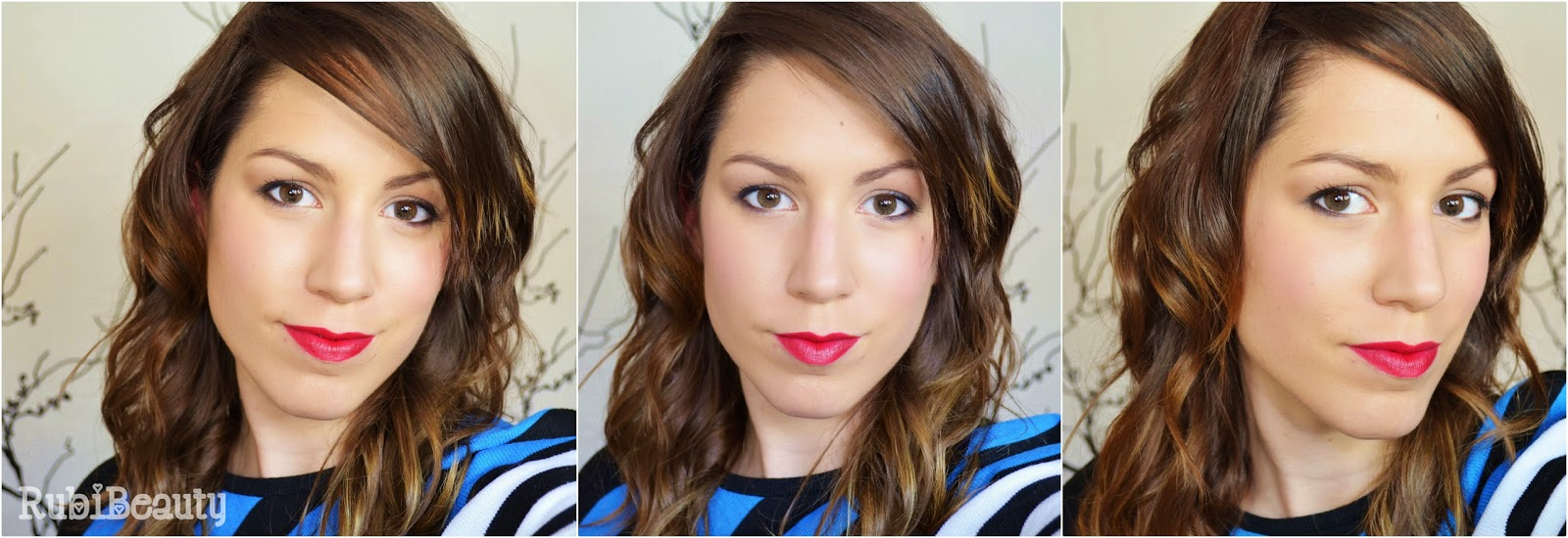 rubibeauty maquillaje emma watson labios rojos