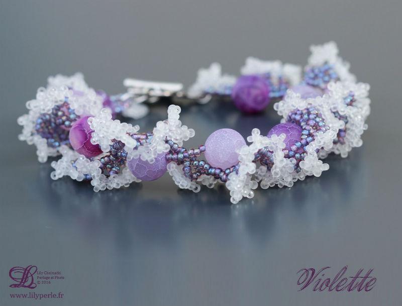 Violette par Lilyperle