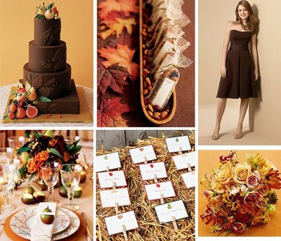 Runway Fashions About Weddings Autumn Wedding Color