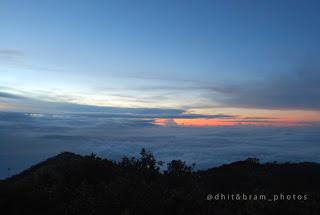 Sunrise Puncak gunung lawu