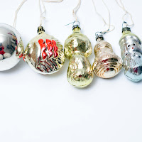christmas gift for hostess vintage ornaments