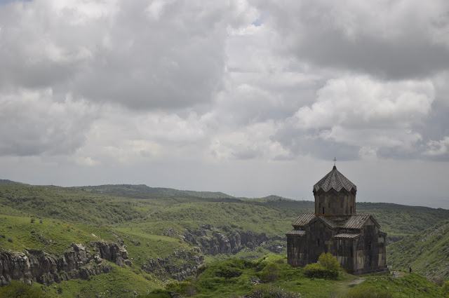 Church of St. Mary behind Amberd Fortress in Armenia for No filter Travel