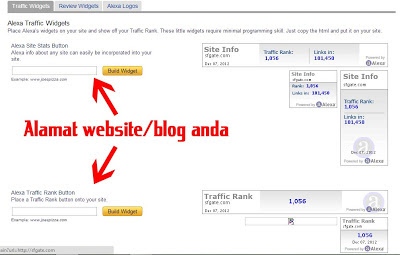 Cara Menigkatkan Alexa Traffic Rank