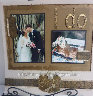 Antique Embossing Wedding Page