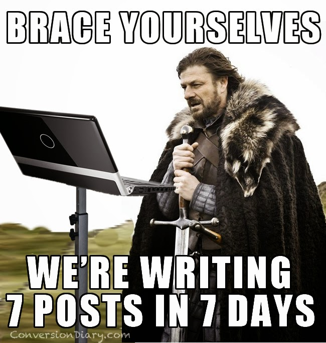 http://www.conversiondiary.com/2014/02/7-posts-7-days.html