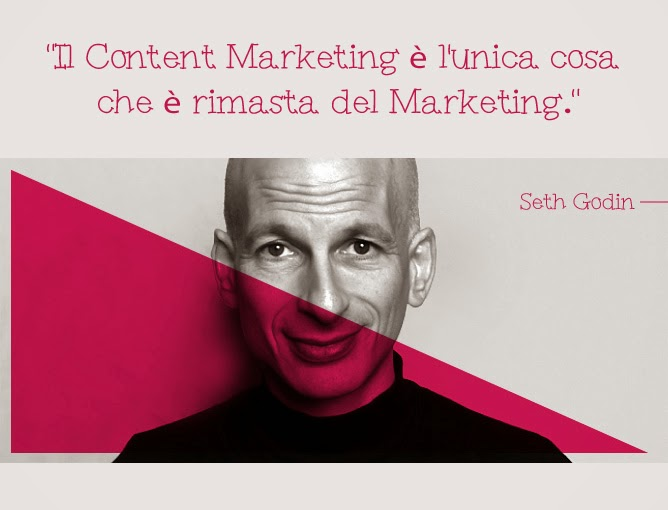 Content marketing by Seth Godin