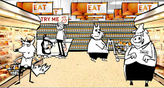 supermarket animals