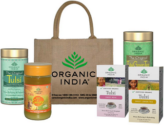 Indiatimes: Buy Organic India Health & Beauty Products at Extra 25% OFF