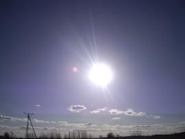 Słońce.