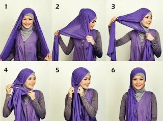 Unique Mode Mode Cara Memakai Jilbab Gaul Simple Dan Trendy