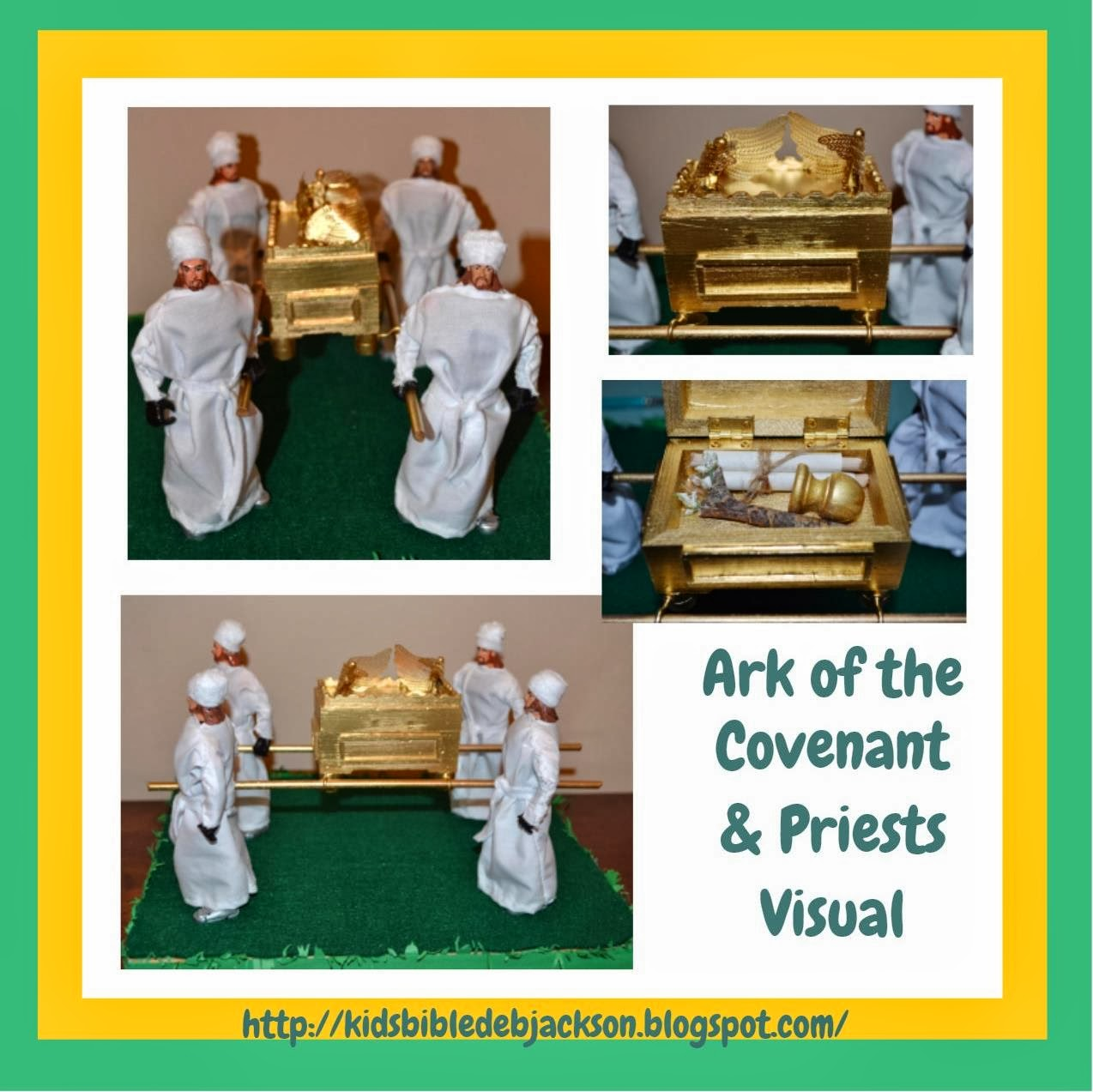 Coloring picture of the ark of covenant - Www Biblefunforkids Com My Husband And I Made The Ark Of The Covenant