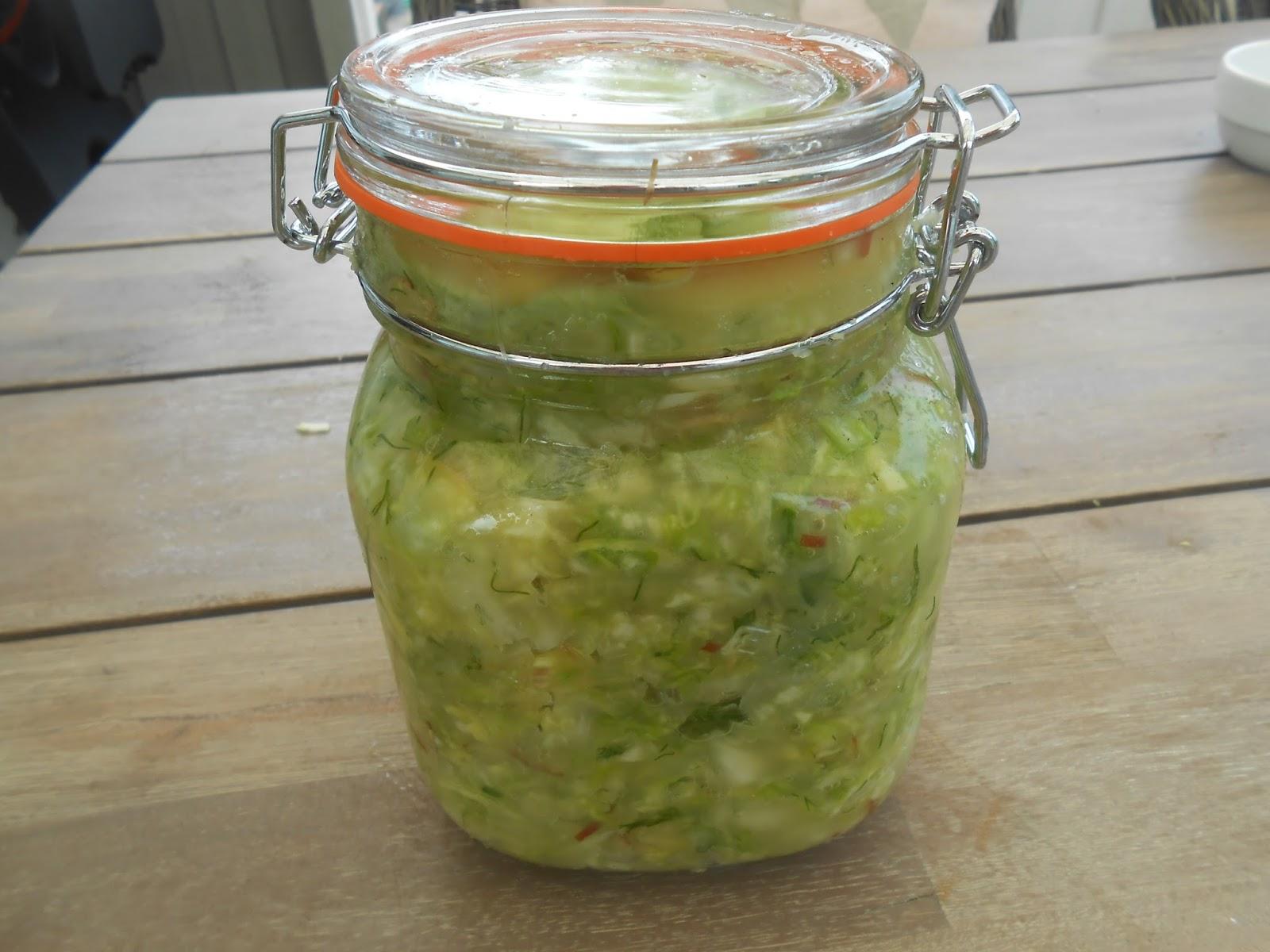 fermenterede grøntsager opskrift