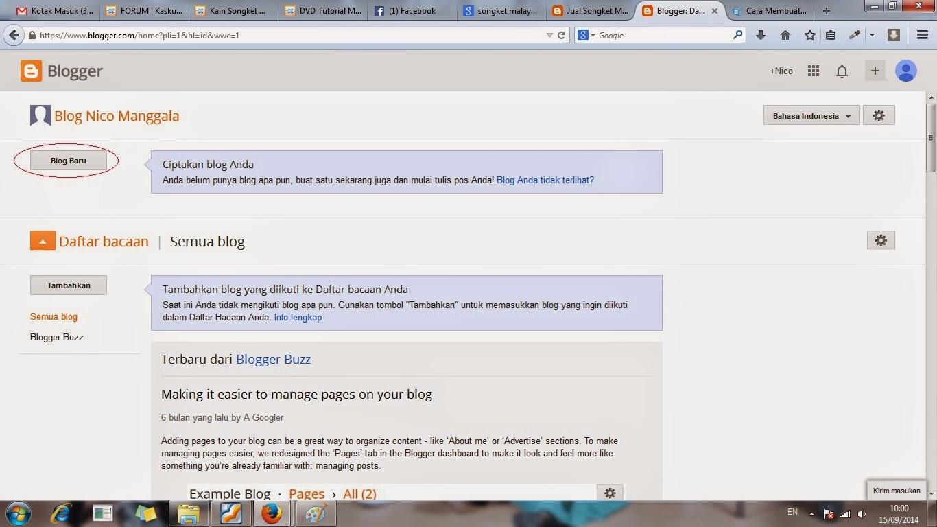 membuat, blogger, cara, tutorial, bikin, langkah