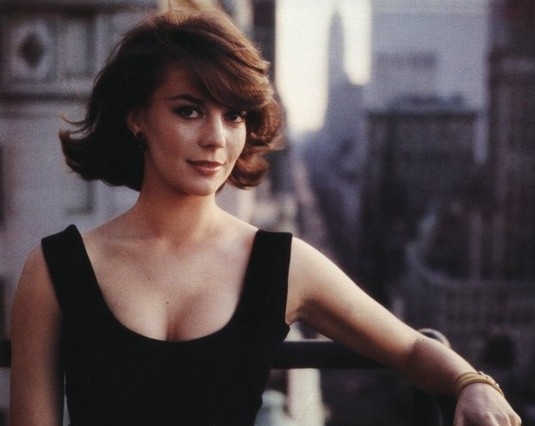 Actress Natalie Wood (wife of