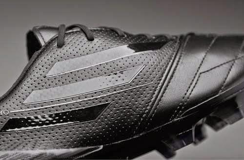 Adidas F50 adizero Leather FG black and white edition