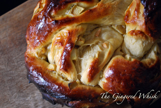 Apple Honey Challah - The Gingered Whisk
