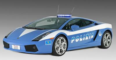 Lamborghini-Murcielago-Police-Car-Gray