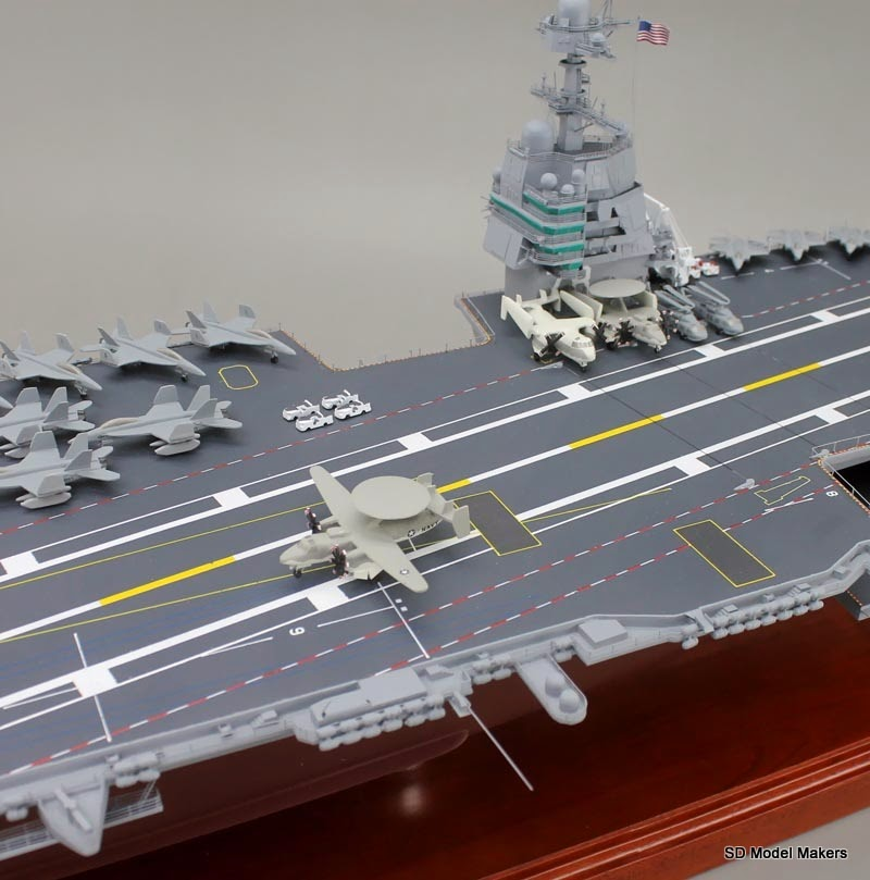 47 Uss Gerald R Ford Aircraft Carrier Model The Navy S