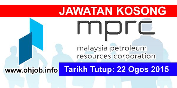 Jawatan Kerja Kosong Malaysia Petroleum Resources Corporation (MPRC) logo www.ohjob.info ogos 2015
