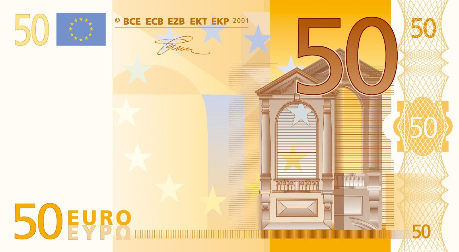 Foto de un billete de 50 euros 20