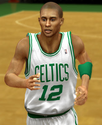 NBA 2K13 Leandro Barbosa Cyberface Patch
