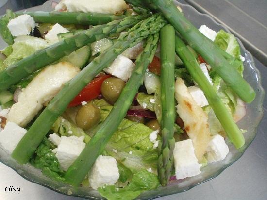 Kreeka salat feta juustuga