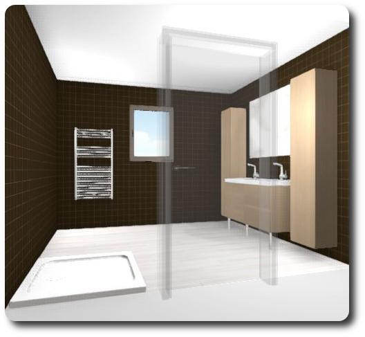 Maison la campagne ik a salle d 39 eau for Disposition salle de bain
