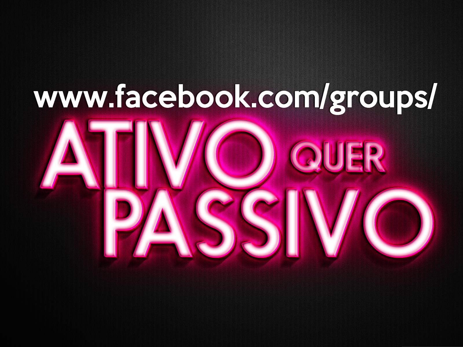 Grupo no Facebook!