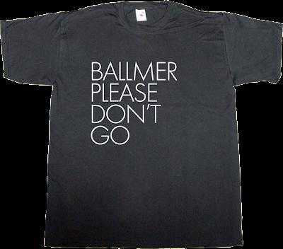 rock vintage steve ballmer clown microsoft obsolete useless CEOs t-shirt ephemeral-t-shirts