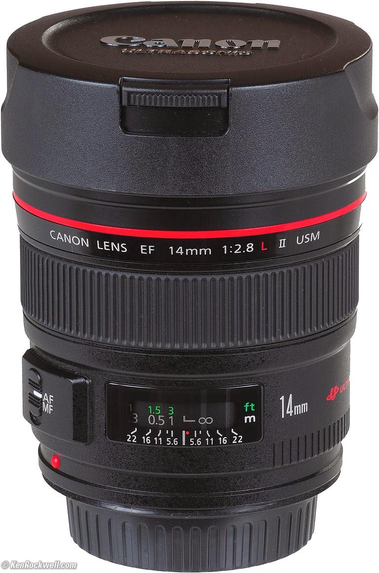 Spesifikasi dan Harga Lensa Canon EF 14mm f/2.8L II USM Terbaru