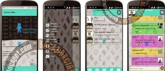 FREE BBM2 MOD Cyanogen Messenger Klone Versi 2.6.0.30