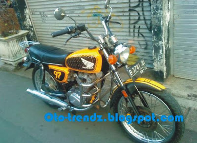 Honda GL modifikasi CB 100