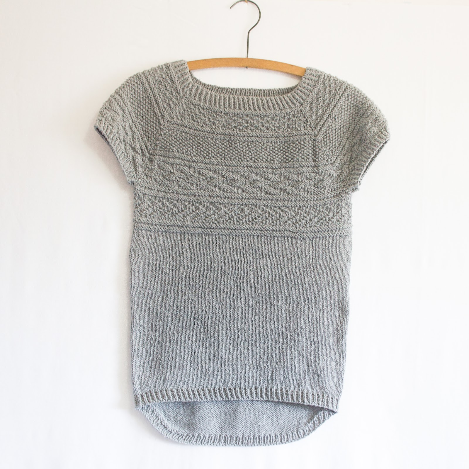 Knitting Patterns Summer Tops : Battersea (free pattern) Knitbug