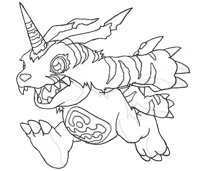 digimon data squad coloring pages - photo#18