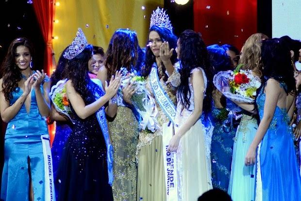 Thayná Albuquerque wins the Miss Universe RJ