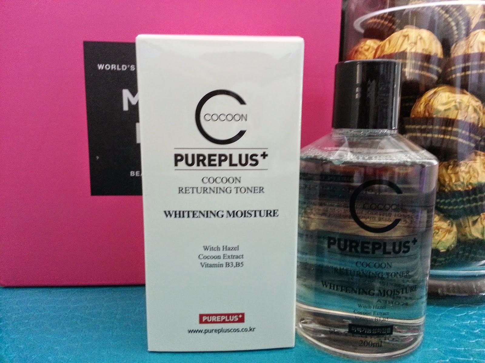 Pureplus+ Cocoon Returning Toner