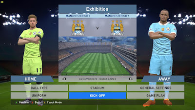 PES 2016 Manchester City 15-16 Kits WC Badge + New Logo by mnridwan12