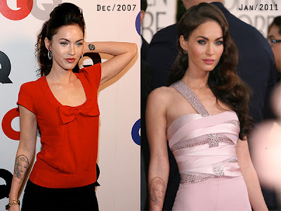 megan fox tattoos marilyn monroe. megan fox tattoos marilyn