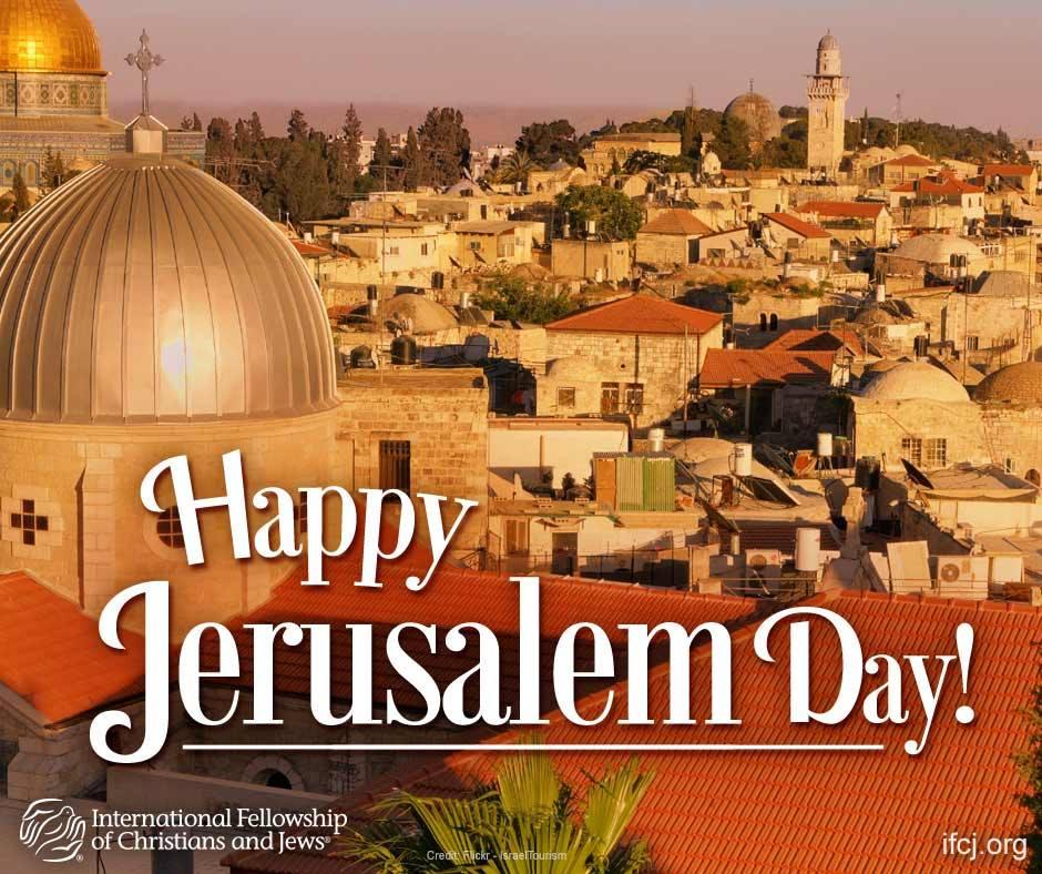Happy Jerusalem Day!
