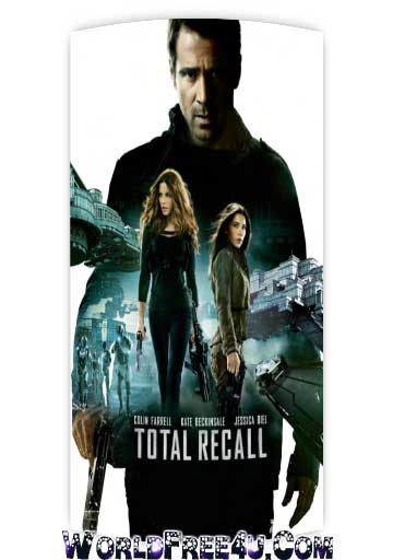 Poster Of Total Recall 2012 In Hindi Bluray 720P Free Download