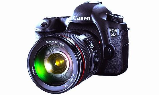 Harga dan Spesifikasi Kamera Canon EOS 6D Baru 2014