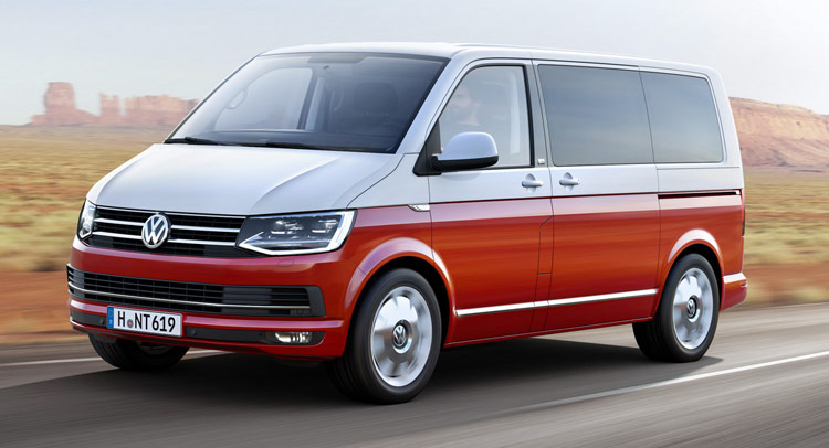 this is vw 39 s all new t6 transporter van. Black Bedroom Furniture Sets. Home Design Ideas