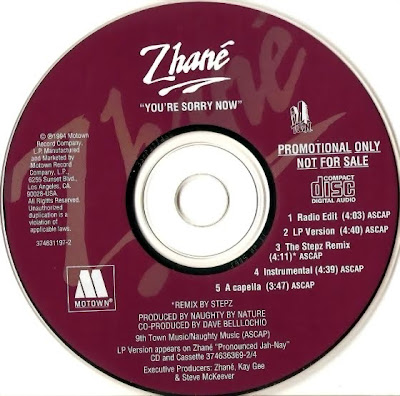 Zhane - Youre Sorry Now-(Promo_CDM)-1994