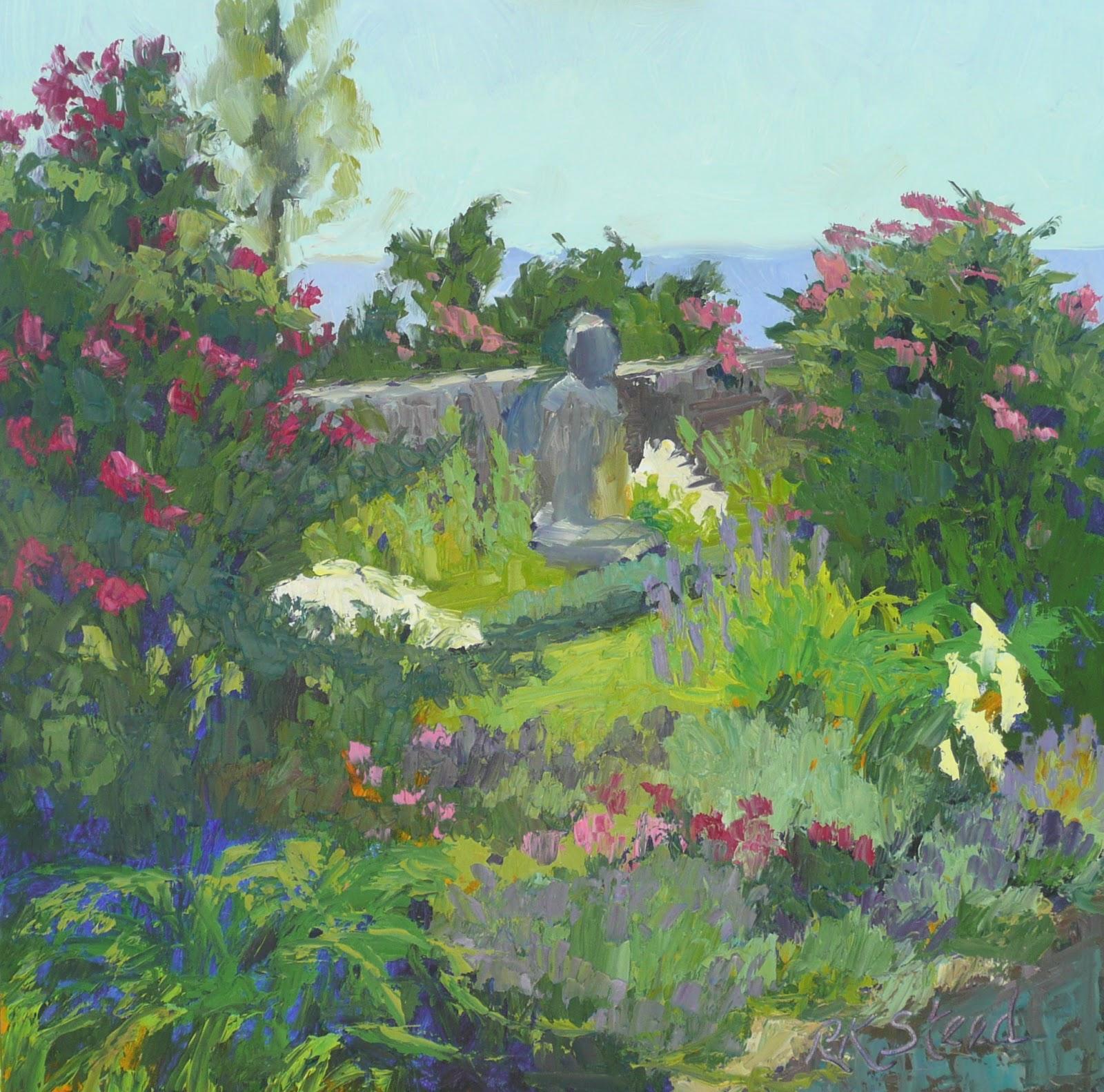 Beau Buddha Garden By The Sea, Plein Air Harkness Park