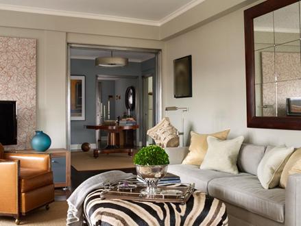nyc penthouse livingroom