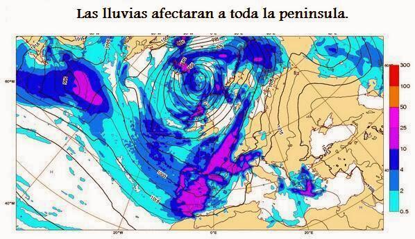 Fenómenos meteorológicos adversos para los días 24 y 25 de Diciembre.  Bb7L3p2IcAEIx8l