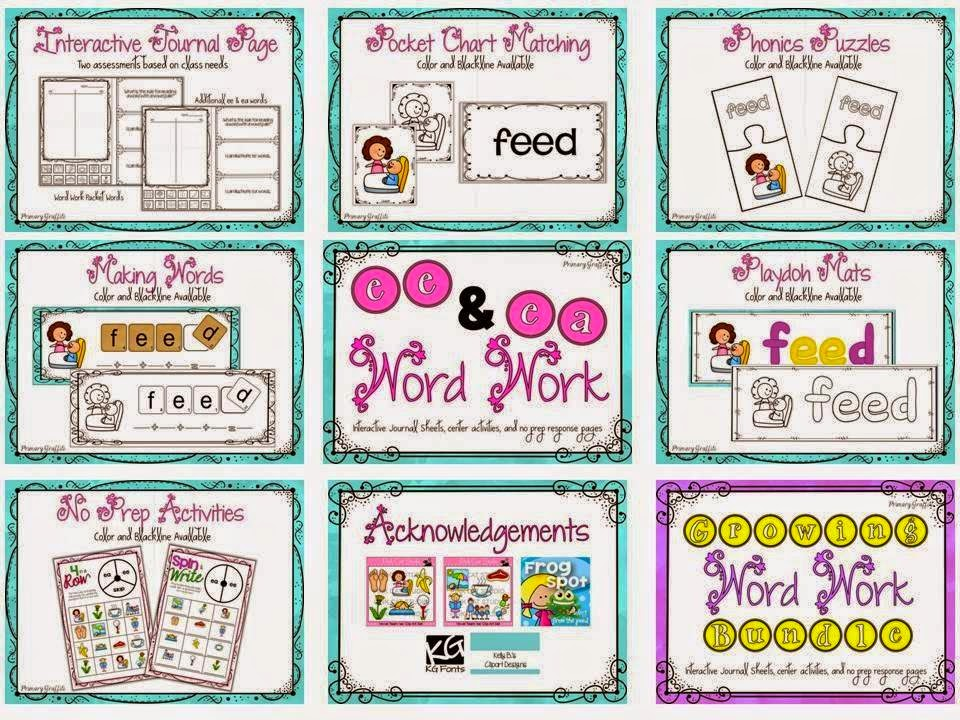 http://www.teacherspayteachers.com/Product/Phonics-Word-Work-ee-ea-1198383