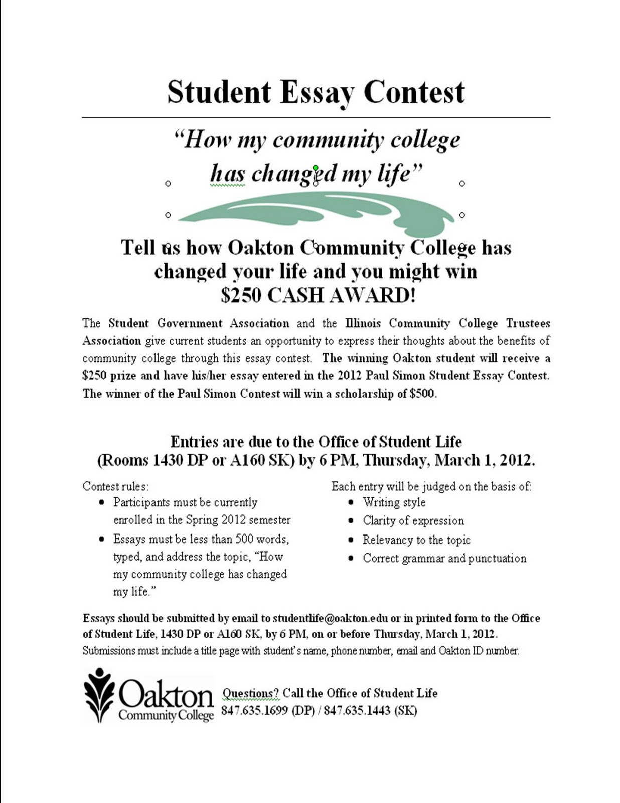 essay contest for college student  essay contest for college student